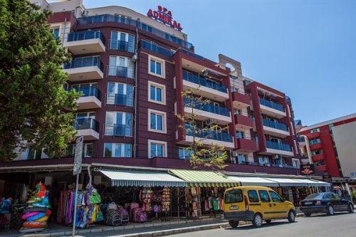 Appartementen Admiral Plaza, Sunny Beach