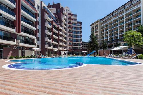 Appartementen Admiral Plaza Superior, Sunny Beach