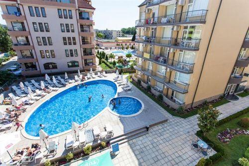 Appartement in Sunny Beach: Appartementen Jasmine & Rose Residence